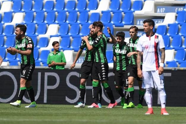 Cagliari Calcio Vs Sassuolo Calcio