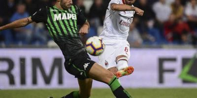 Milan rozbił Sassuolo na MAPEI Stadium