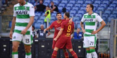 Roma wygrywa z Sassuolo