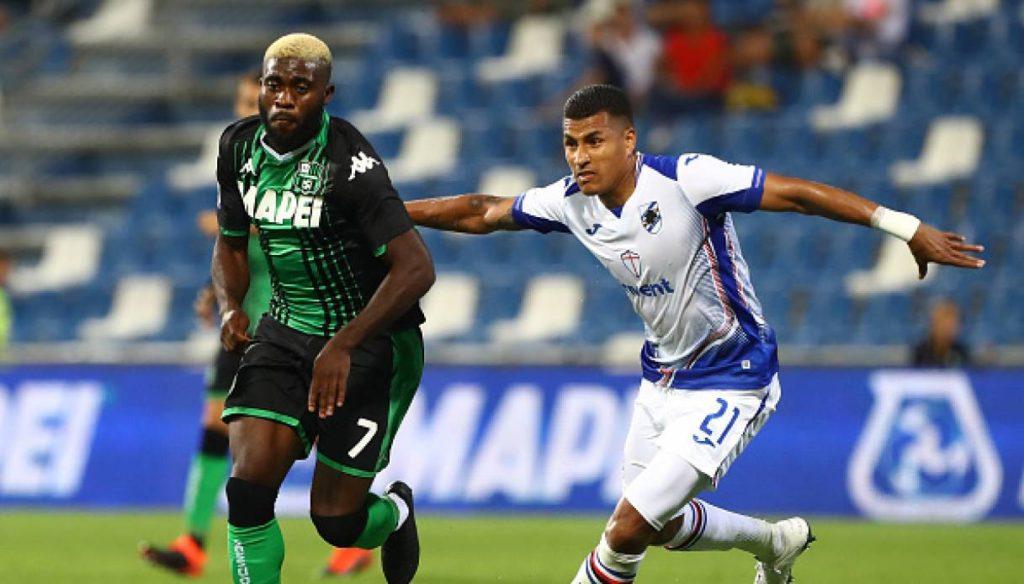 Sampdoria Genoa vS Sassuolo Calcio