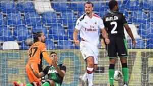 Sassuolo przegrywa z Milanem
