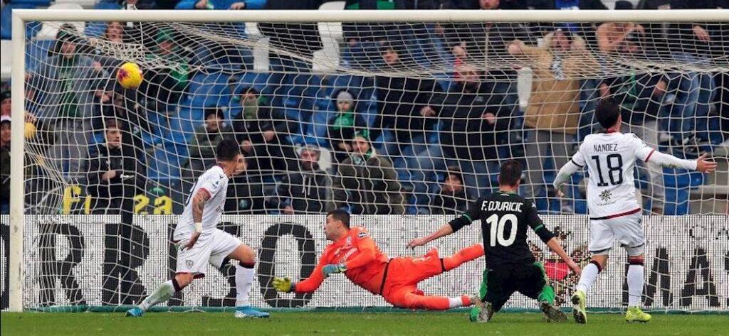 Sassuolo remisuje z Cagliari