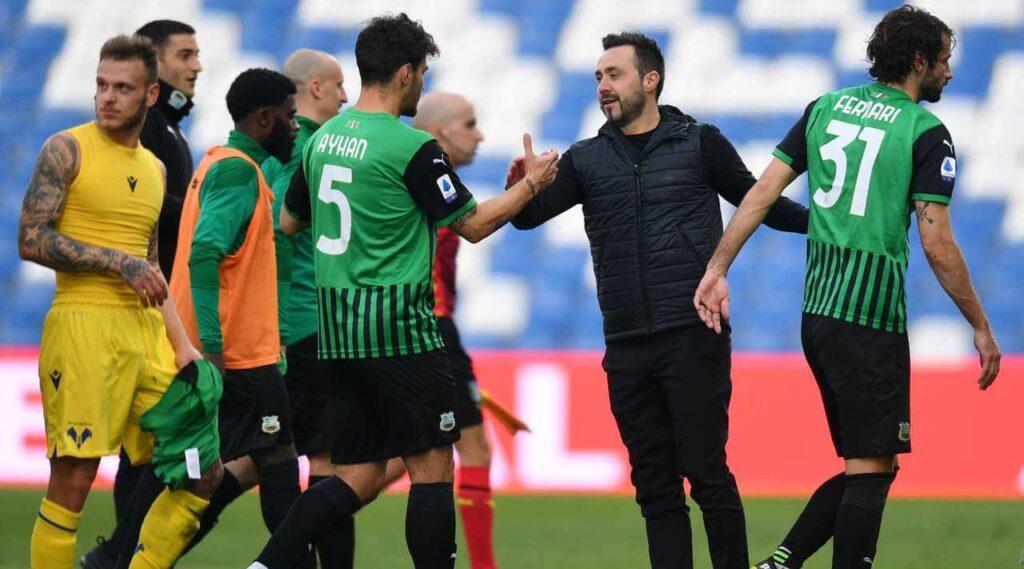 Sassuolo wygrywa z Hellasem Werona